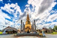 Pagoda in Wat Prabudhabaht Huay Toom, Thailand Royalty Free Stock Photo