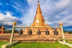Pagoda in Wat Prabudhabaht Huay Toom, Thailand Royalty Free Stock Photography