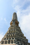 Pagoda in wat prakaew Stock Photo