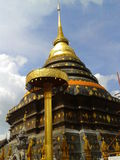Pagoda. Wat Prathat Lampang Luang ,Lampang:Thailand Stock Image