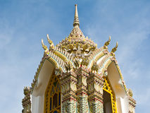 Pagoda at Wat Ratchabophit , Bangkok Thailand Royalty Free Stock Images