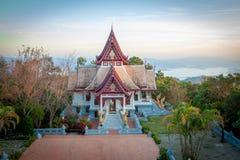 Pagoda Wat Santikhiri di Sinakarintra Stit Mahasantikhiri in Doi Mae Salong, Chiang Rai Province, Tailandia del Nord fotografie stock