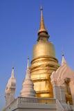 Pagoda in Wat Saun Dork, Chiang Mai, Thailand Stock Image