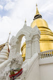 Pagoda at Wat Suan Dok in Chiang Mai, Thailand Royalty Free Stock Images