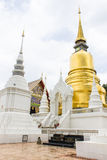 Pagoda at Wat Suan Dok in Chiang Mai, Thailand Stock Photo