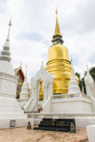 Pagoda at Wat Suan Dok in Chiang Mai, Thailand Stock Images