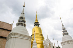 Pagoda at Wat Suan Dok in Chiang Mai, Thailand Royalty Free Stock Photo