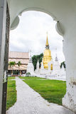 Pagoda at Wat Suan Dok in Chiang Mai, Thailand Royalty Free Stock Photography