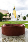 Pagoda at Wat Suan Dok in Chiang Mai, Thailand Royalty Free Stock Photos