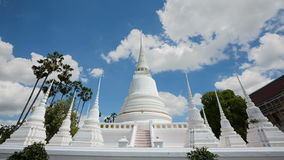 Pagoda Wat Suwandararam stock footage