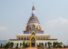 Pagoda at Wat-Ta-Ton Chiang mai,Thailand Stock Photo