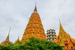 The pagoda of Wat Tham Sua Royalty Free Stock Photo