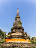 Pagoda in Wat Umong Chiang Mai, Tailandia del Nord Immagini Stock