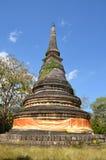Pagoda in Wat Umong Suan Puthatham Chaing Mai Thailand Fotografia Stock