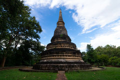 The pagoda of Wat Umong temple in Chiangmai Thailand royalty free stock photos