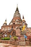 Pagoda of Wat Yai Chai Mongkol in Ayutthaya Stock Photos
