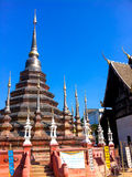 Pagoda of watpantao temple. Chieng Mai , Thailand Royalty Free Stock Photo