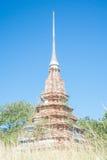 Pagoda. White pagoda with the blue sky Stock Photos