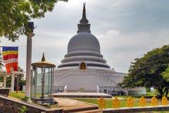 Pagoda white Royalty Free Stock Photography