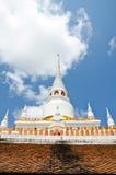 Pagoda white. On sky background Stock Image