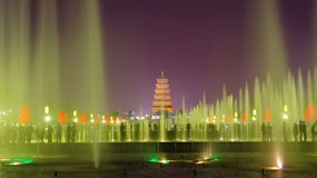 Xi 'an wild goose pagoda in China Stock Photo