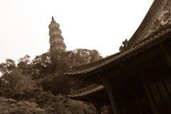Pagoda y templo Imagenes de archivo