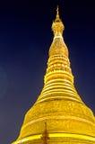 Pagoda- Yangon, Birma van Schwedagon (Myanmar) Royalty-vrije Stock Foto's