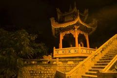 Pagoda z życzeniem Bell w Buddyjskiej świątyni Tęsk Shon nha trang Vietnam Obraz Stock