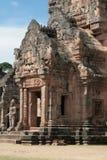 Pagodaen på Phanom ringde tempelet Buriram Thailand Royaltyfria Bilder
