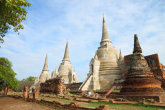 pagodaen renoverar fördärvar Royaltyfri Bild