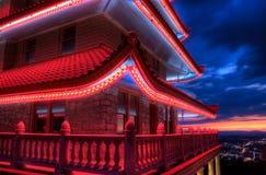 pagodapennsylvania avläsning royaltyfri bild