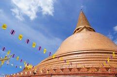 pagodaprapathom Royaltyfri Bild