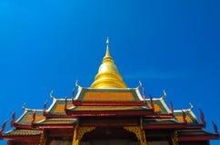 Pagodapratadpamflett Royaltyfria Foton