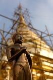 pagodarekonstruktiontempel Arkivbild