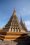 Pagodas 08. Wat Pho temple in Bangkok, Thailand Stock Photo