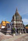 Pagodas 15. Pagodas at Wat Pho in Bangkok, Thailand Stock Photo