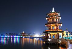 Pagodas Стоковая Фотография RF