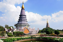 The pagodas Royalty Free Stock Image