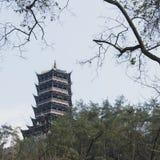 pagodas royalty-vrije stock afbeeldingen