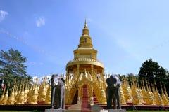 500 pagodas au saraburi Images libres de droits