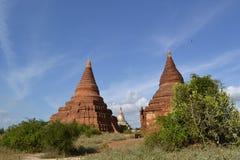Pagodas in Bagan Royalty Free Stock Image