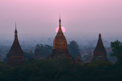 Pagodas , Bagan, Myanmar Royalty Free Stock Image