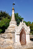 Pagodas in Bagan, Myanmar Royalty Free Stock Image