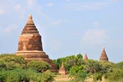 Pagodas in Bagan, Myanmar Royalty Free Stock Photo
