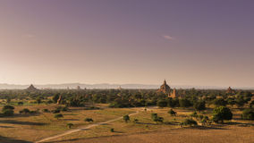Pagodas of Bagan Stock Images
