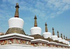 Pagodas brancos Foto de Stock