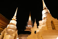 Pagodas royalty free stock photography