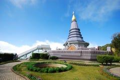 The pagodas - Chiangmai Stock Photography