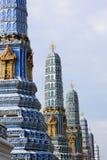 Pagodas da cor Fotografia de Stock