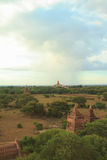Pagodas de Bagan Photos stock